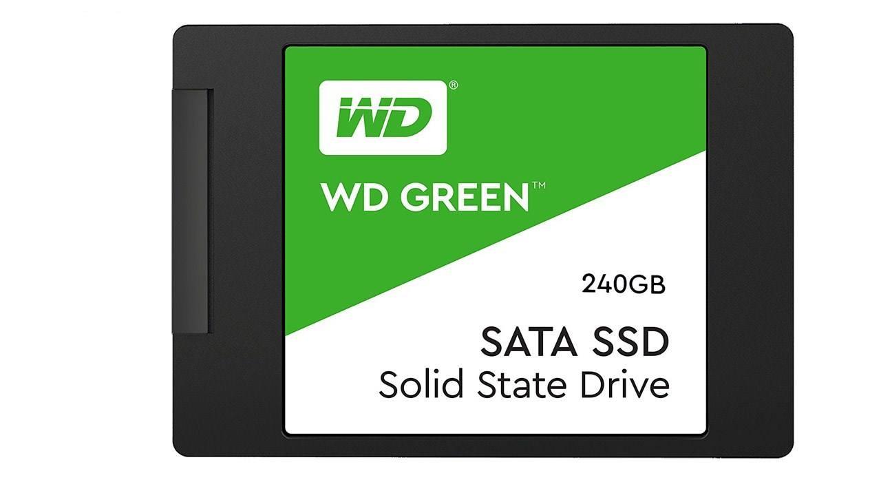 اس اس دی اینترنال وسترن دیجیتال مدل Green WDS240G2G0A ظرفیت ۲۴۰ گیگابایت