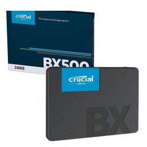 اس اس دی اینترنال کروشیال مدل BX500 ظرفیت ۲۴۰ گیگابایت